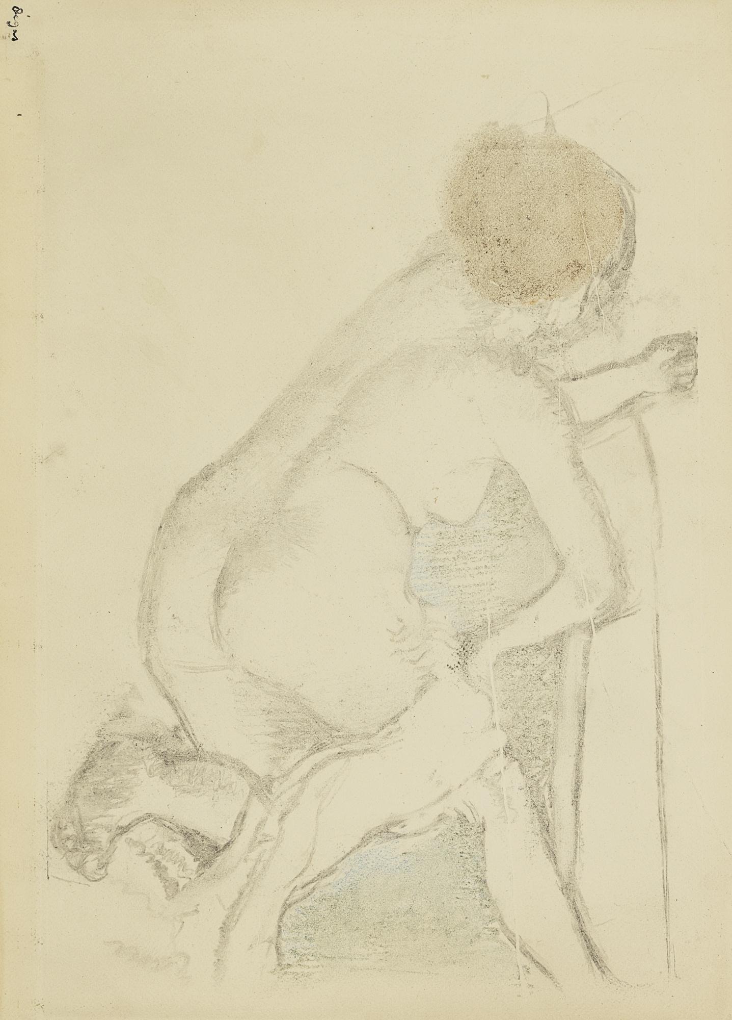 Edgar Degas-Femme S'Essuyant-1891