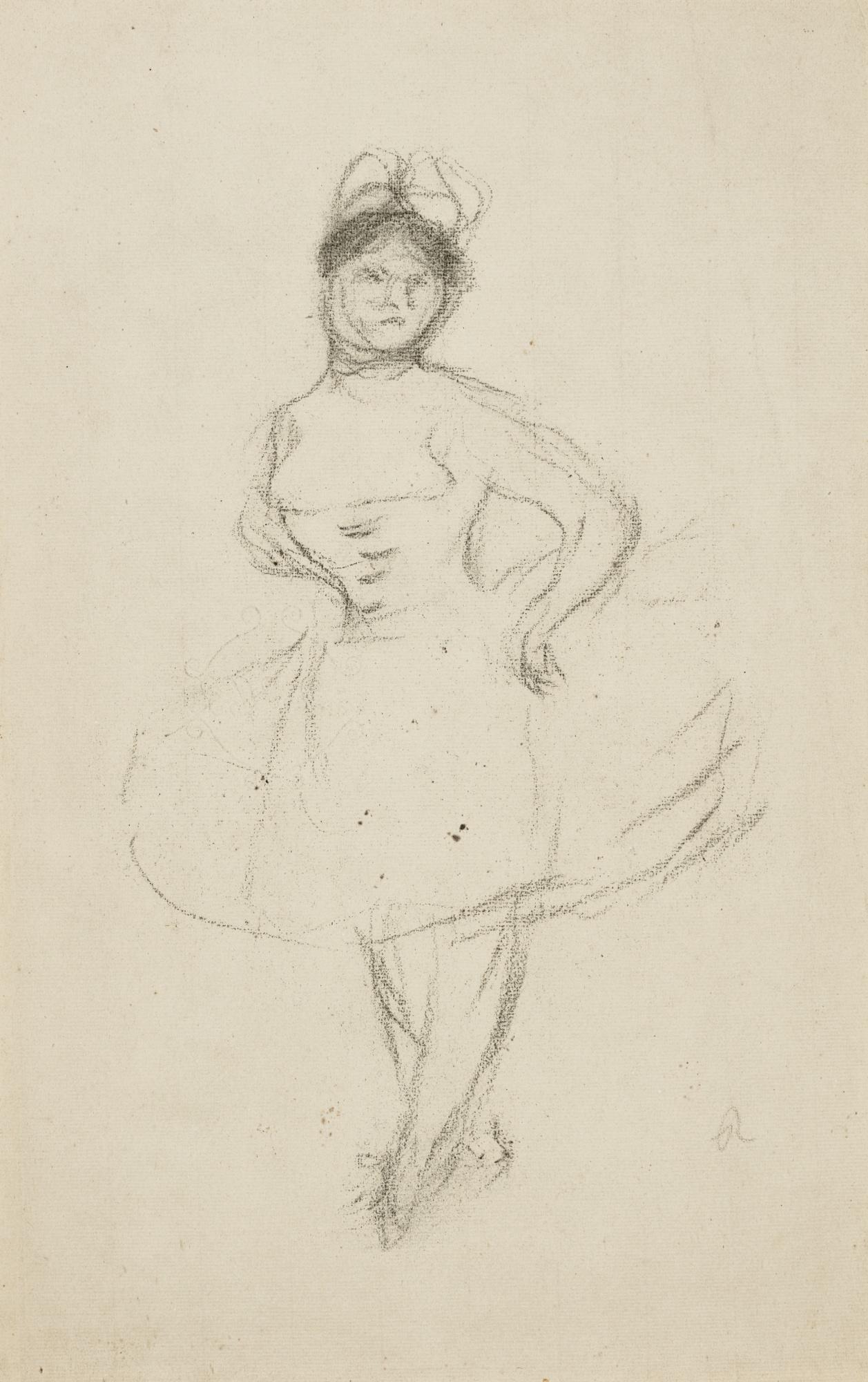 Pierre-Auguste Renoir-Danseuse (Rosita Mauri)-