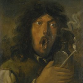 Edouard Manet-Le Buveur D'Absinthe-1858