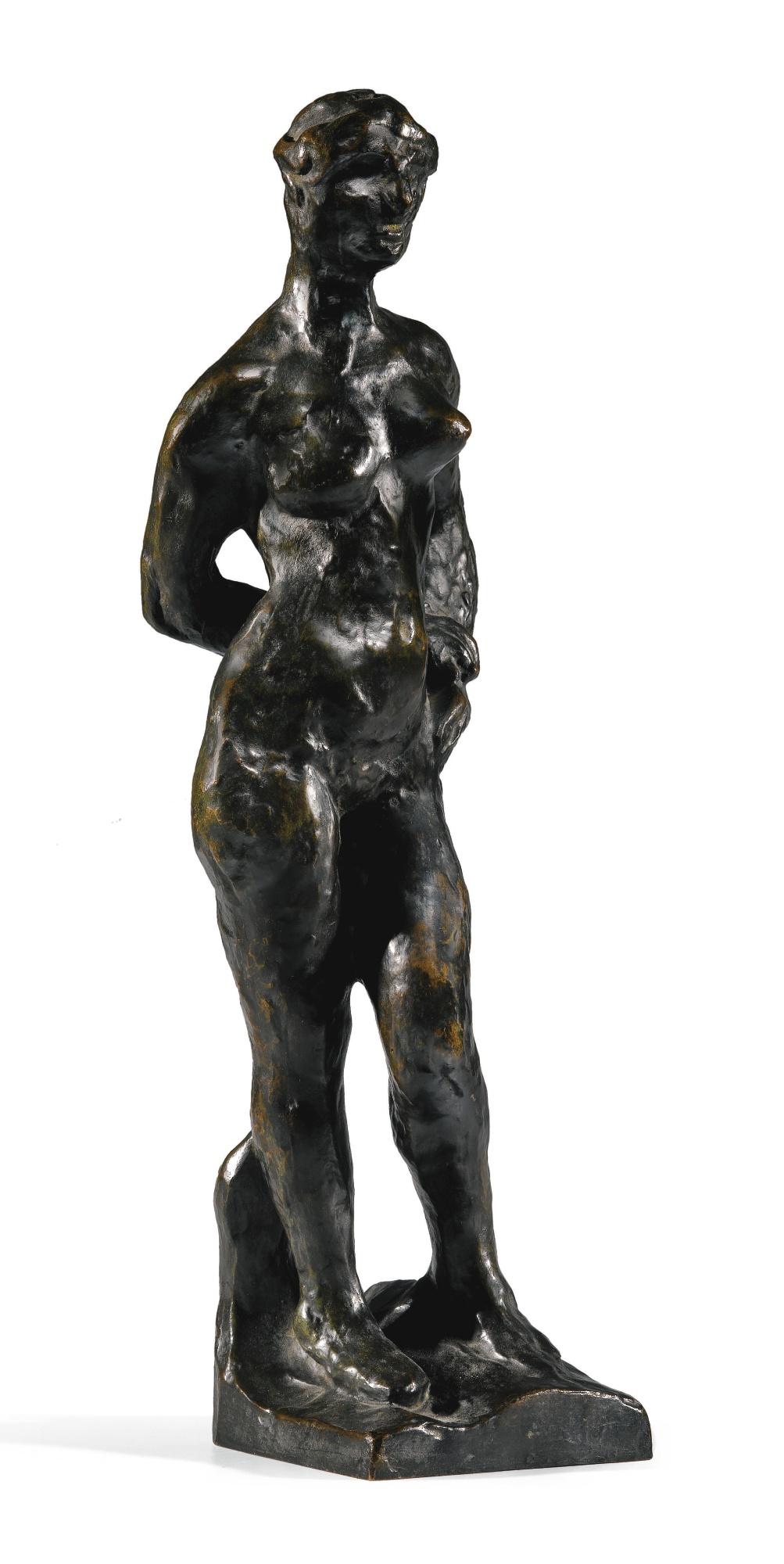 Auguste Rodin-Nu Feminin Debout Dit Aussi Psyche-1959