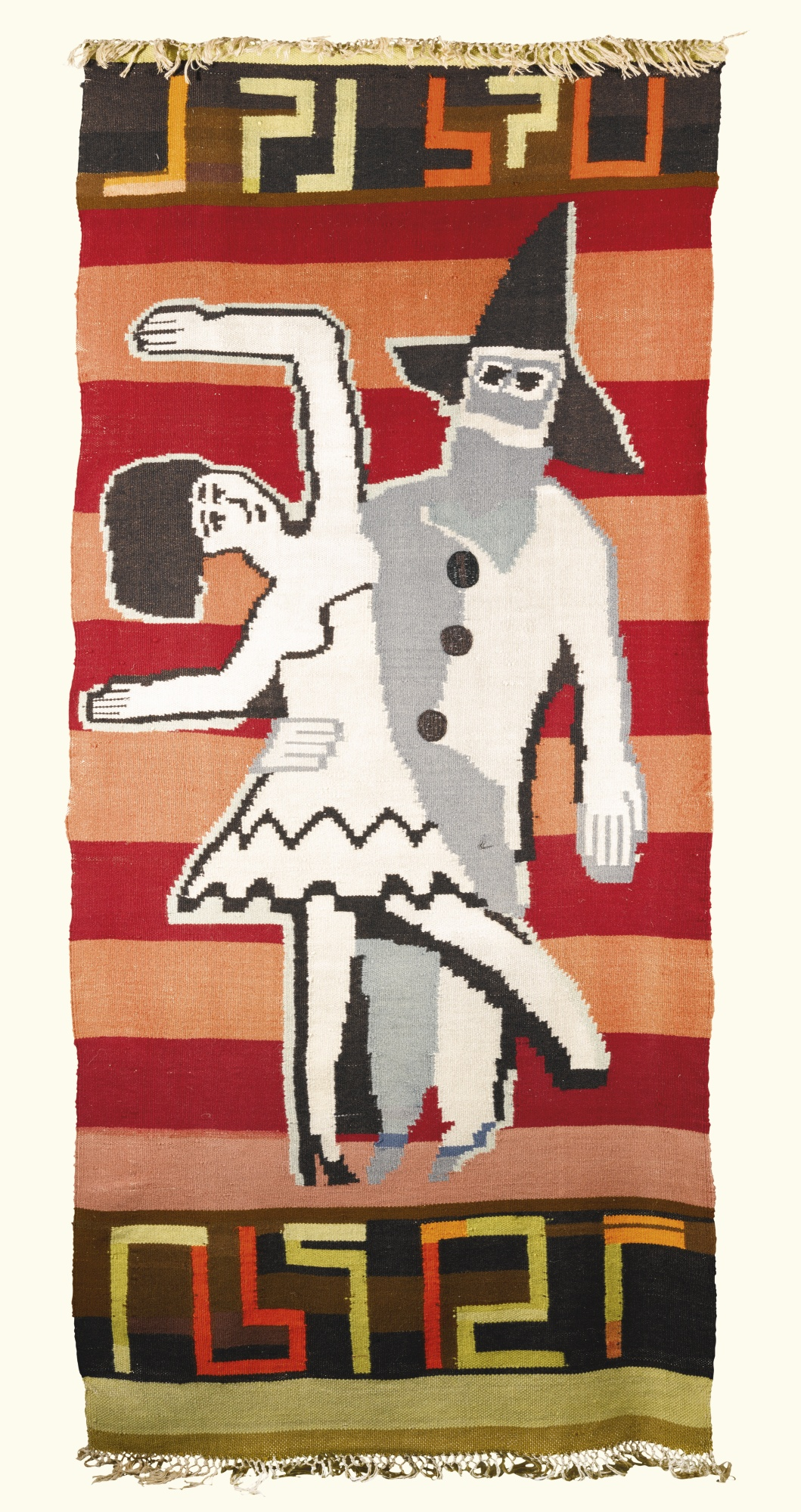 Ernst Ludwig Kirchner-Lise Gujer-Pierrot Und Colombine (Pierrot And Colombine)-1931