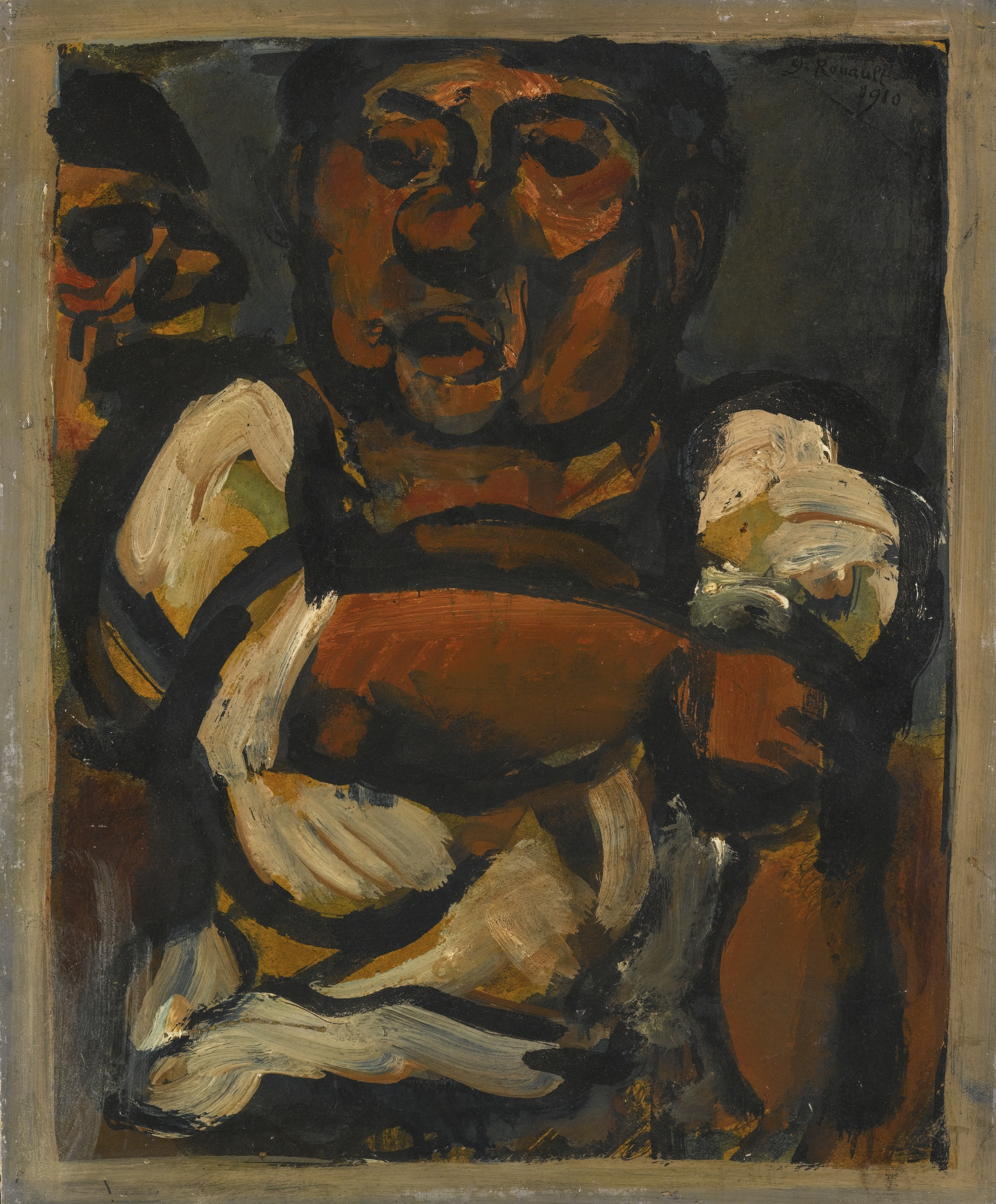 Georges Rouault-Fier A Bras-1910