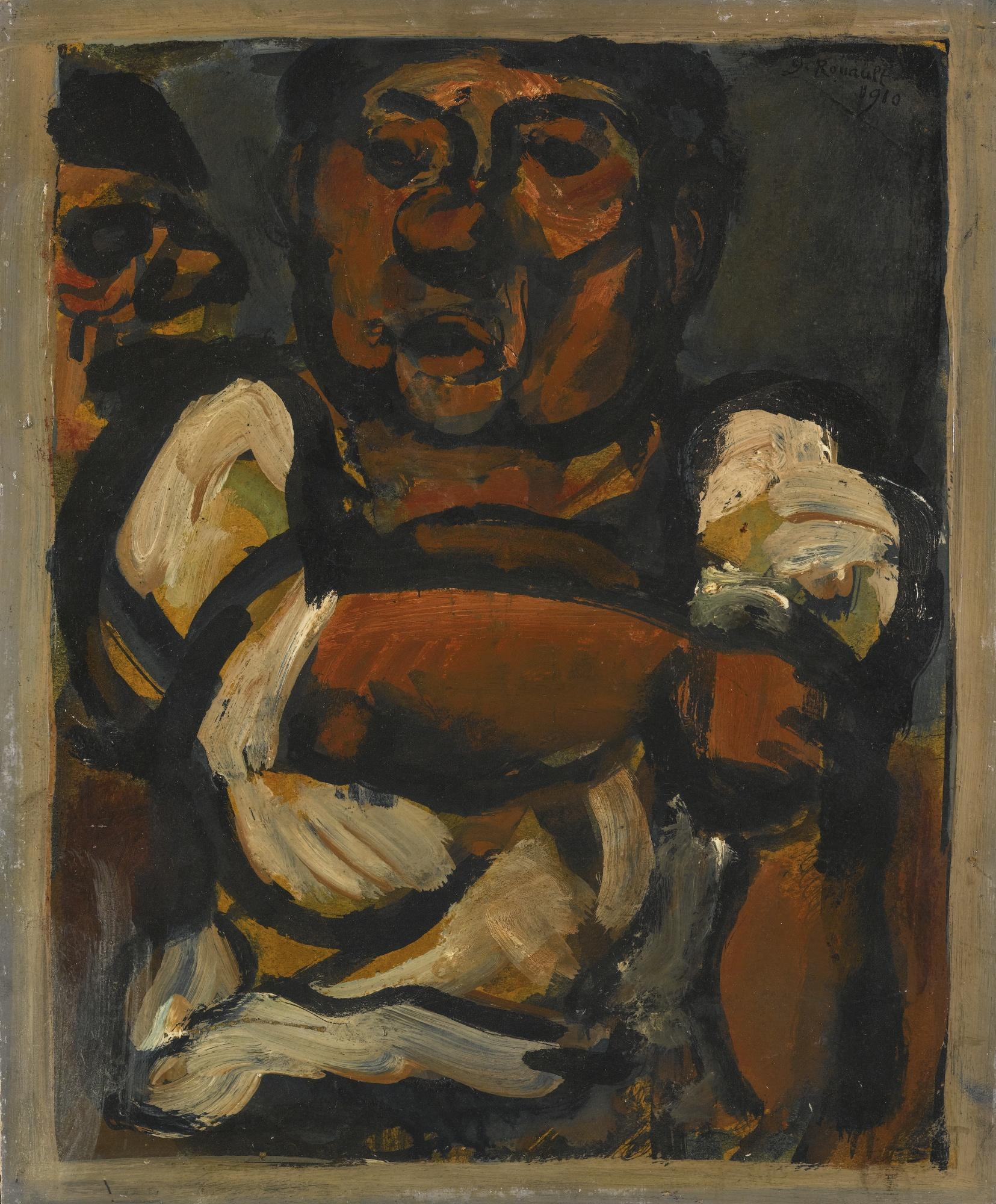 Georges Rouault-FierA Bras-1910