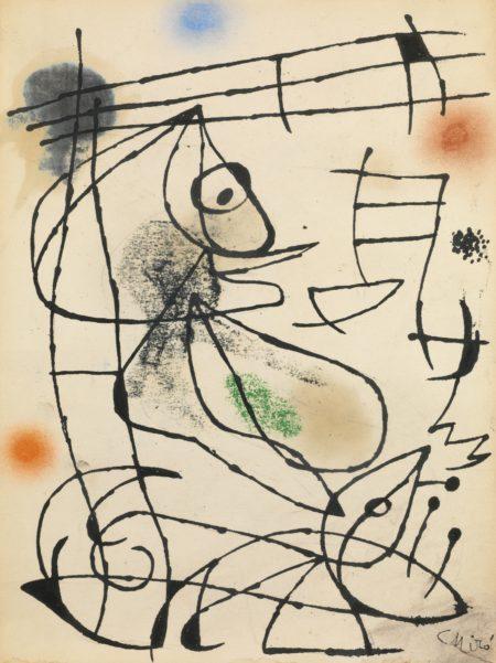 Joan Miro-Oiseau-1975