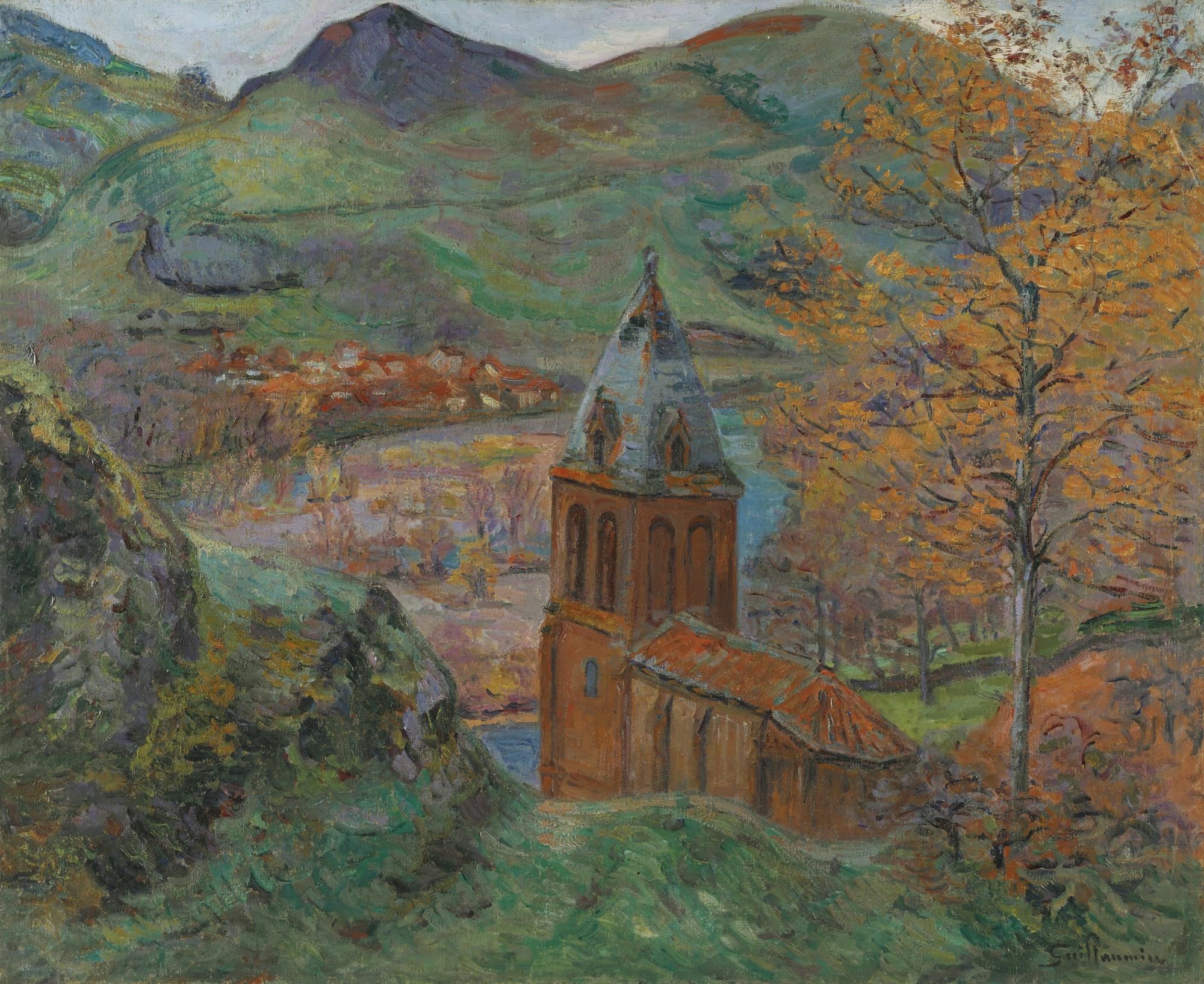Jean-Baptiste Armand Guillaumin-Eglise De Saint Julien Des Chazes, Allier-1895