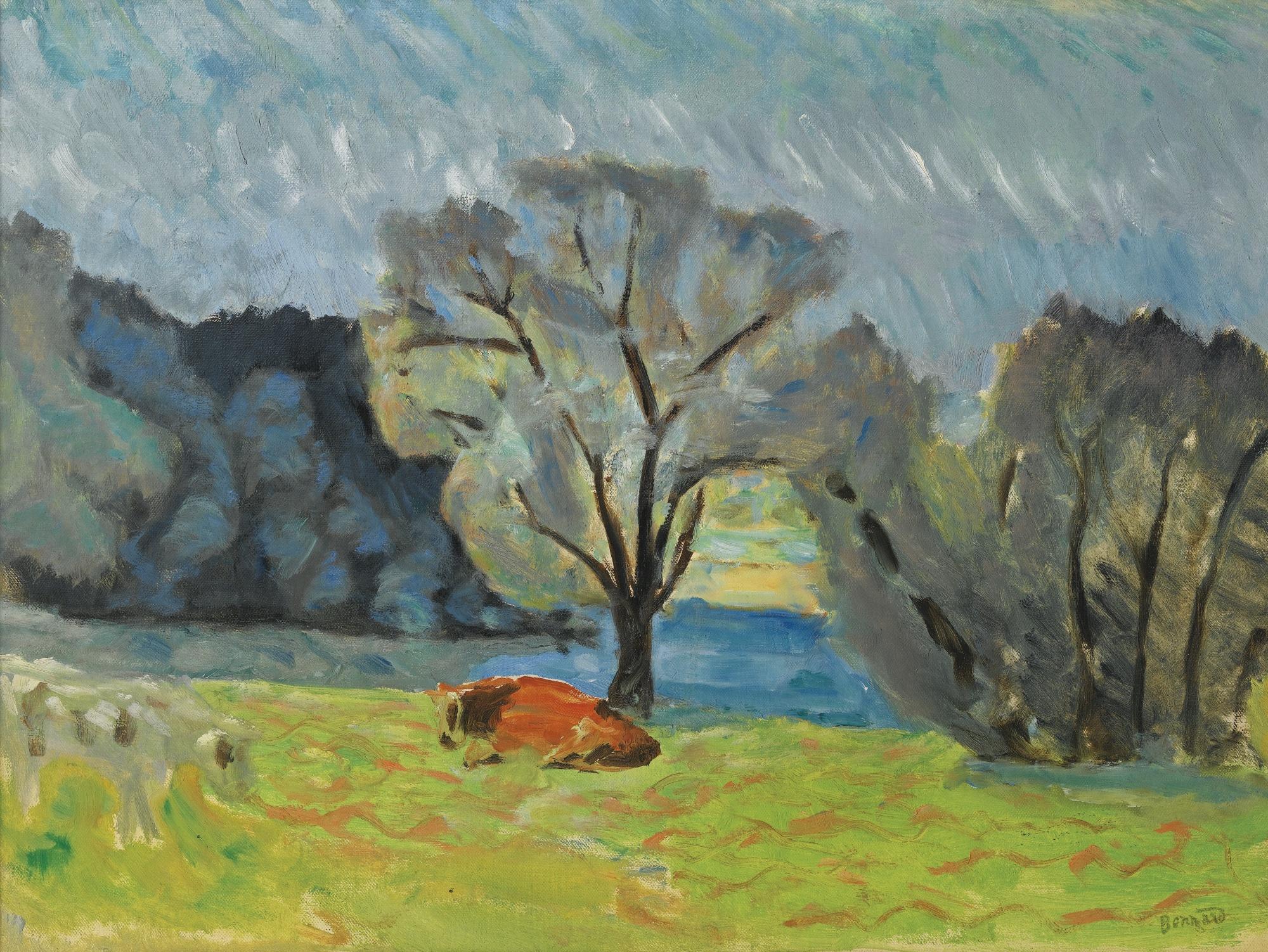 Pierre Bonnard-Paysage-1918