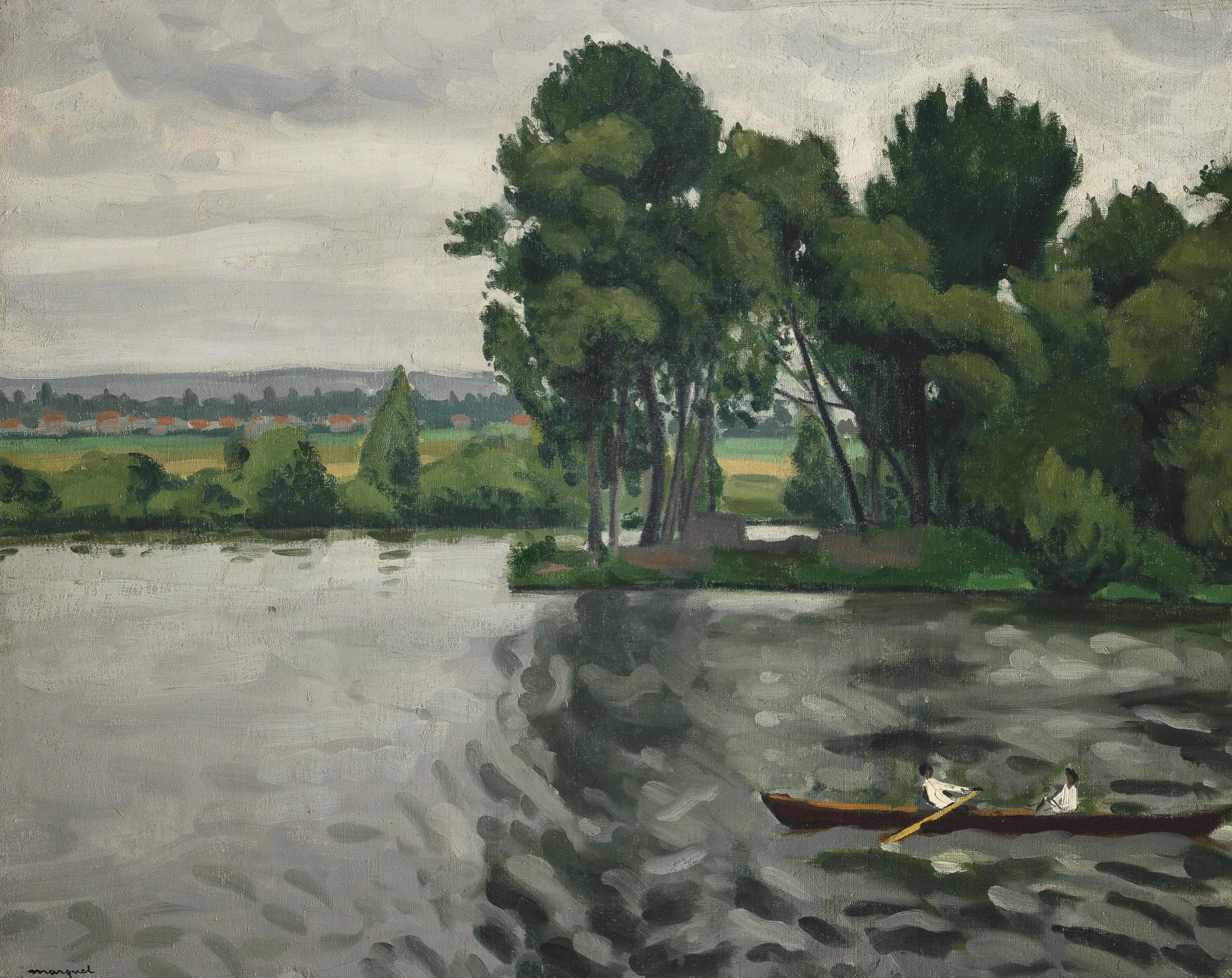 Albert Marquet-Bord De Seine A Poissy-