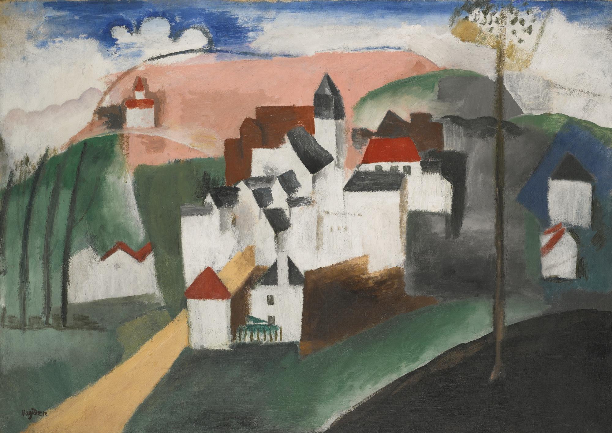 Henri Hayden-Paysage-1913