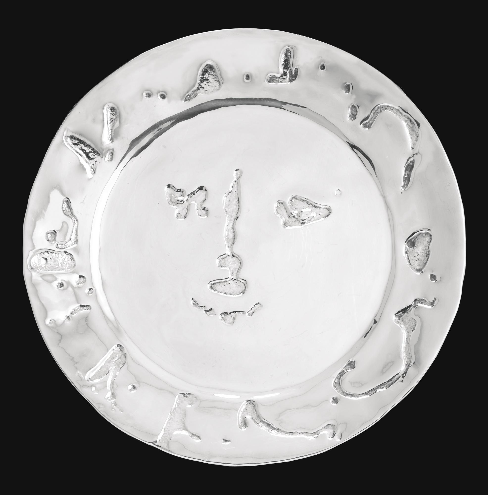 Pablo Picasso-Visage Larve-1967