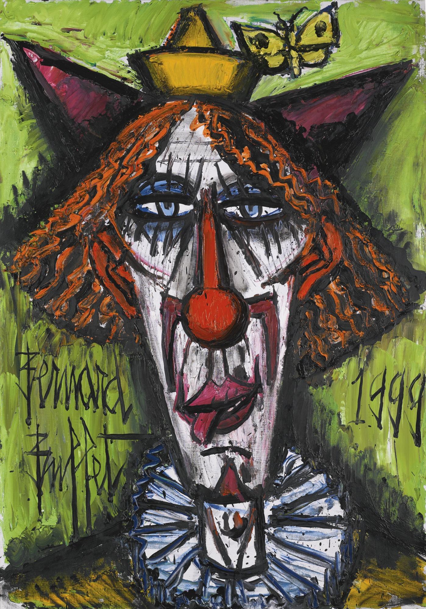 Bernard Buffet-Tete De Clown-1999
