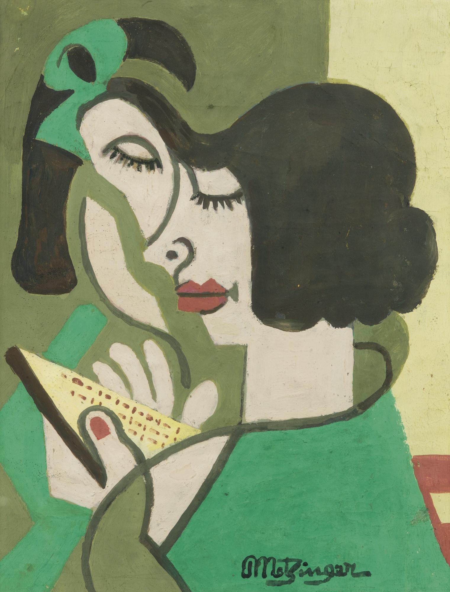Jean Metzinger-Femme Lisant-1930