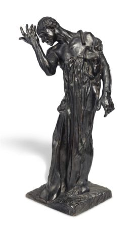 Auguste Rodin-L'un des Bourgeois de Calais: Pierre de Wiessant, vetu, reduction-1904