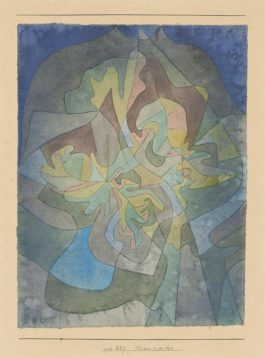 Paul Klee-Blumen in der Vase (Flowers in the Vase)-1929
