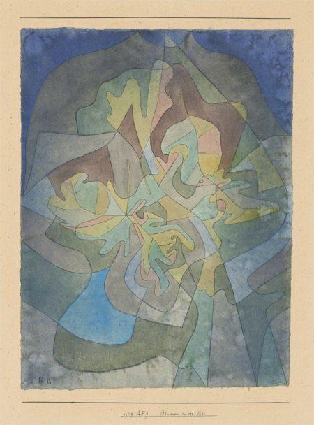 Paul Klee-Blumen in der Vase (Flowers in the Vase)-1929