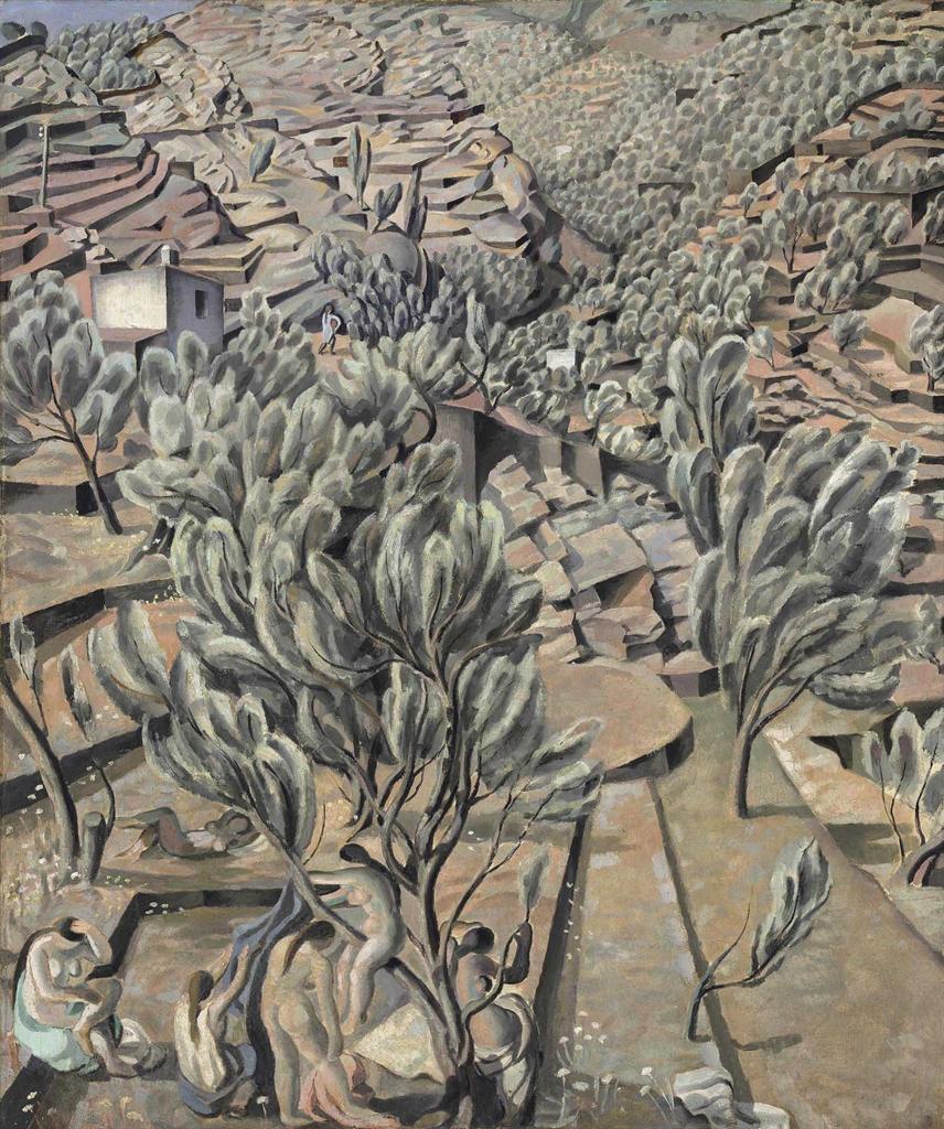 Salvador Dali-El rec de La Jorneta (The Jorneta Stream)-1923