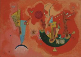 Wassily Kandinsky-Mit und Gegen (For and Against)-1929