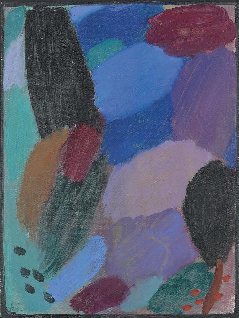 Alexej von Jawlensky-Variation: Nacht II-1916