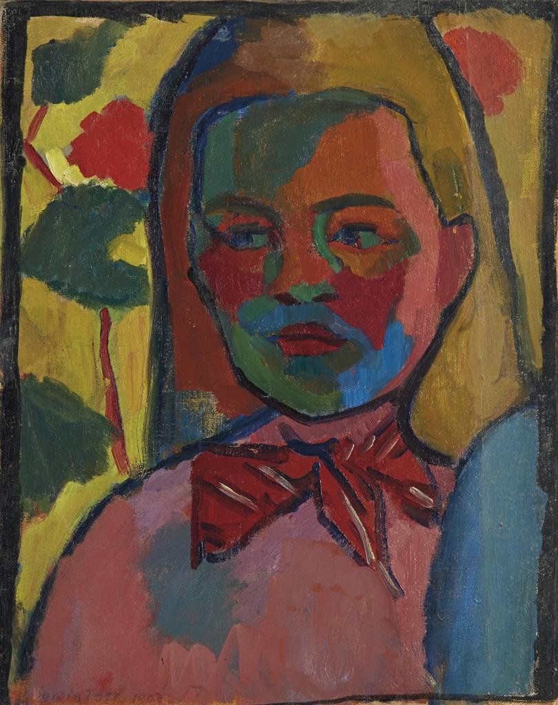 Sonia Delaunay-Jeune finlandaise-1907