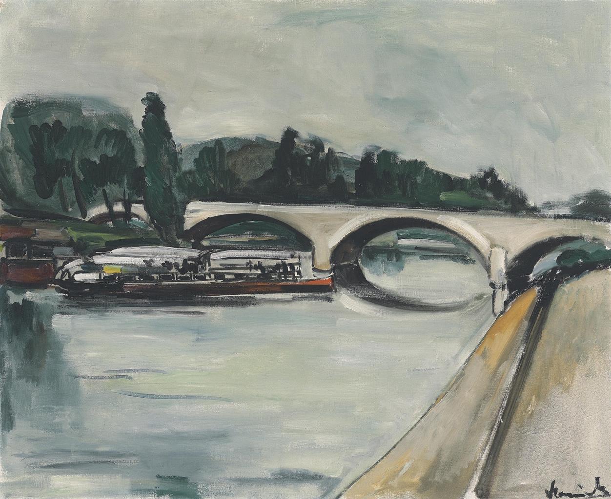 Maurice de Vlaminck-Le pont-