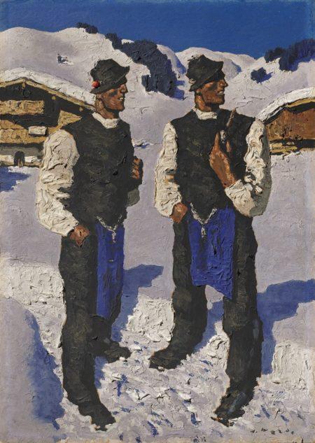 Alfons Walde-Bauernsonntag-1937