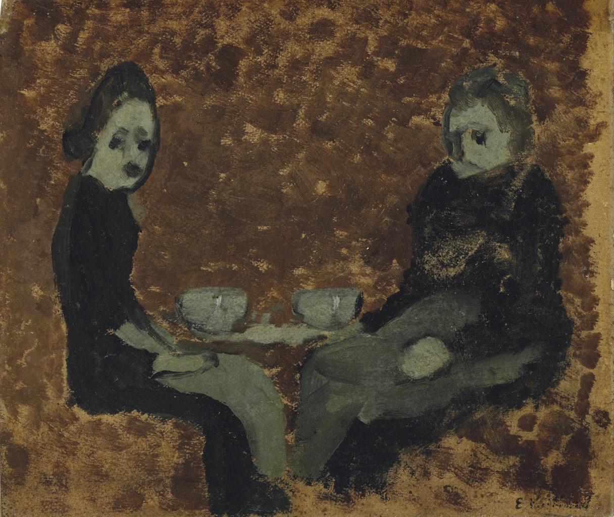 Edouard Vuillard-La collation-1891