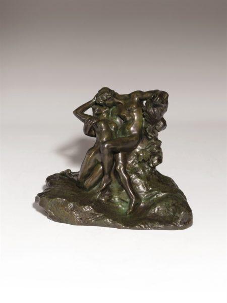 Auguste Rodin-Eternel printemps, second etat, 4eme reduction-1907