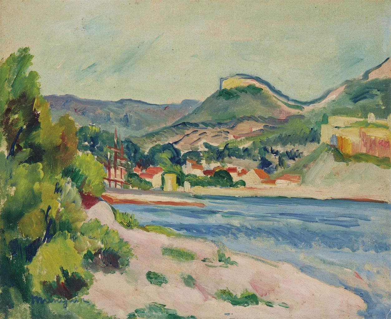 Henri Manguin-Cassis-1912