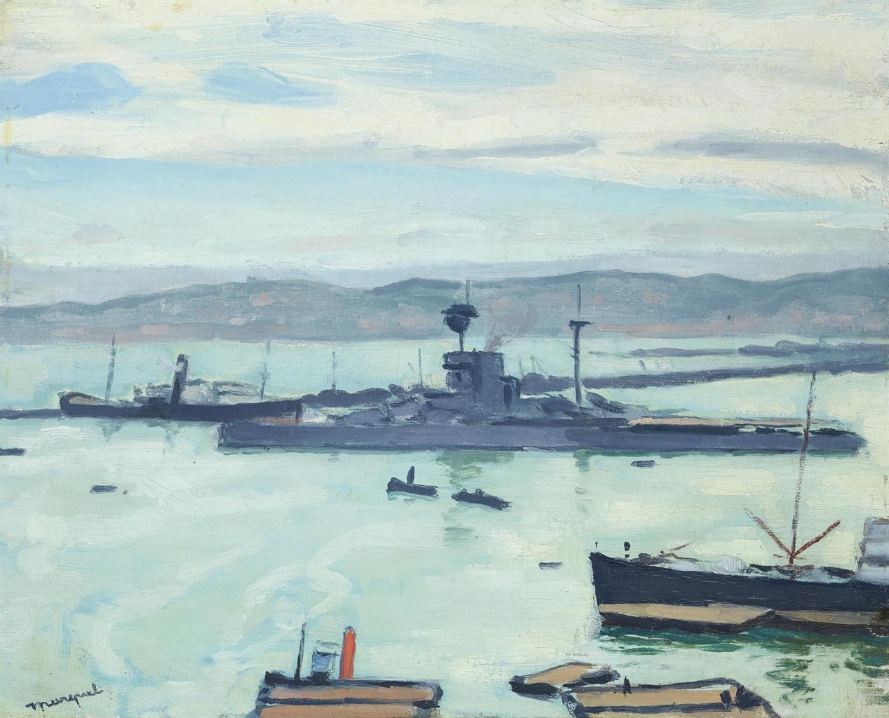 Albert Marquet-Le croiseur-1922