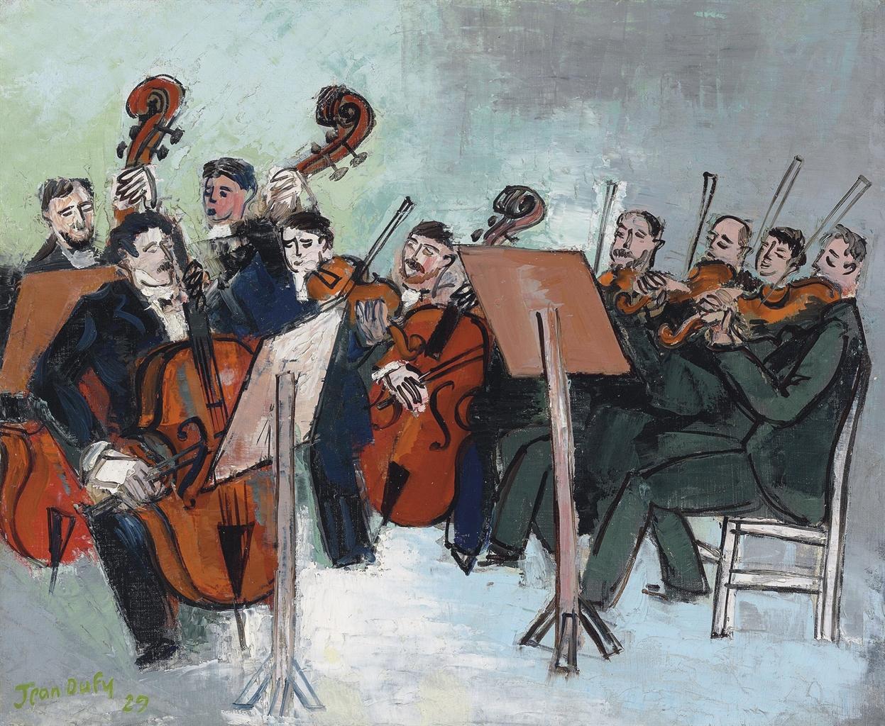 Jean Dufy-L'orchestre-1929