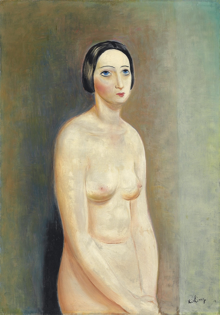 Moise Kisling-Nu debout-1930