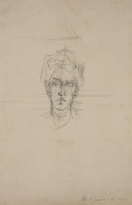 Alberto Giacometti-Portrait de Soshana-1958