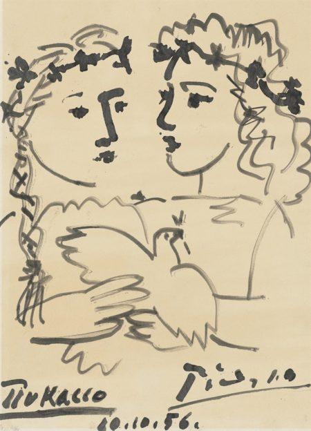 Pablo Picasso-Amitie franco-sovietique, France-URSS-1956
