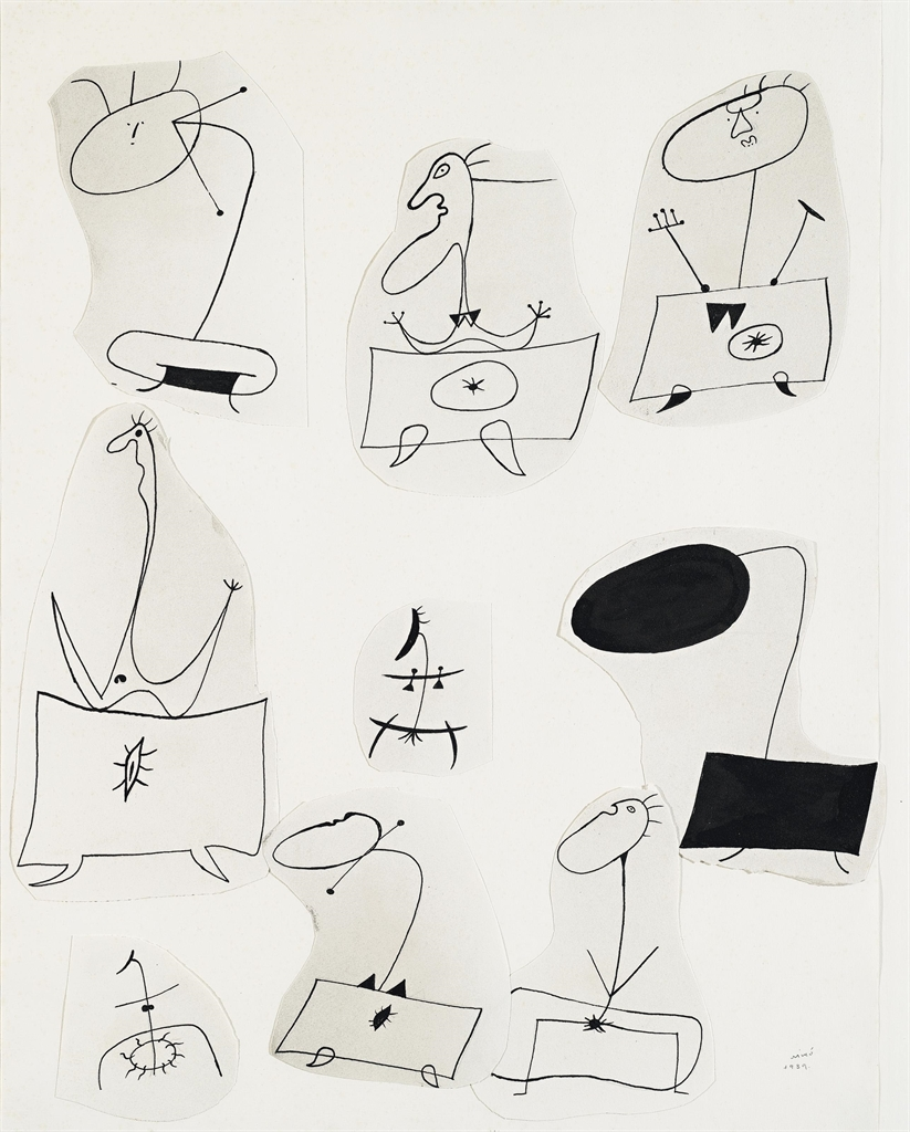 Joan Miro-Untitled-1939