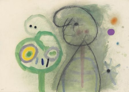 Joan Miro-Personnages-1960