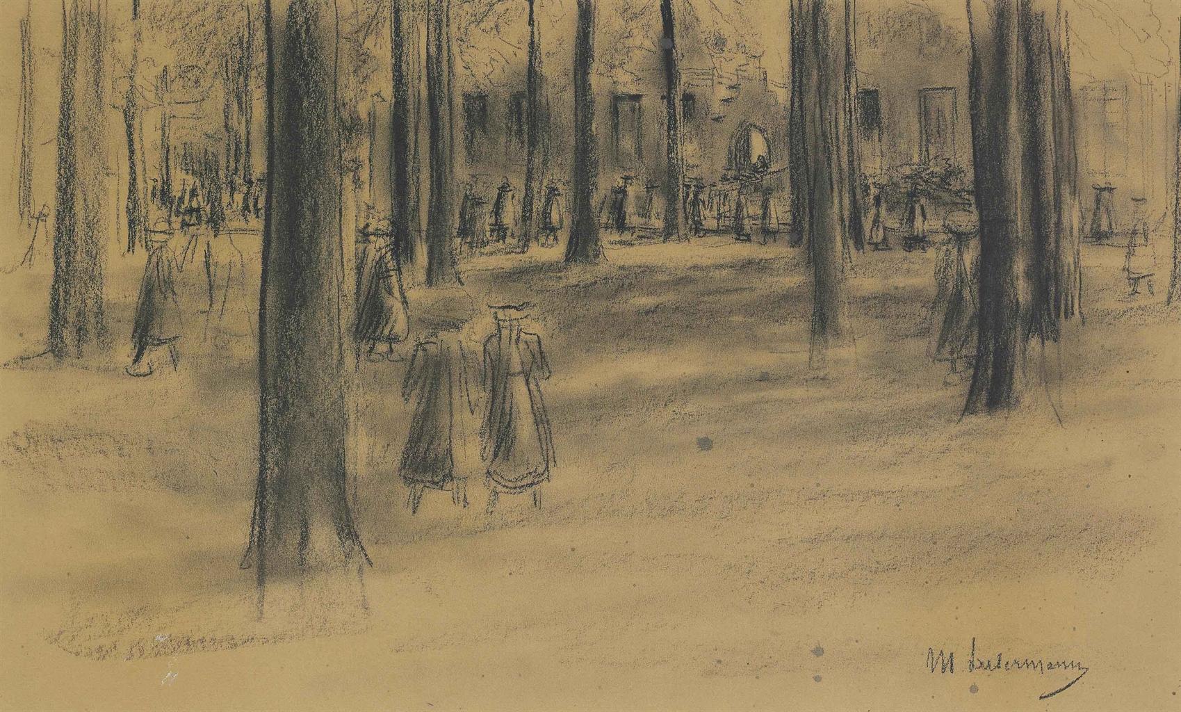 Max Liebermann-Schulgang in Laren-1898