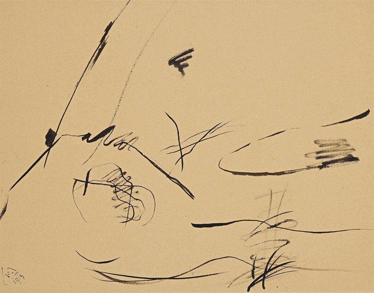 Wassily Kandinsky-Ohne Titel-1913