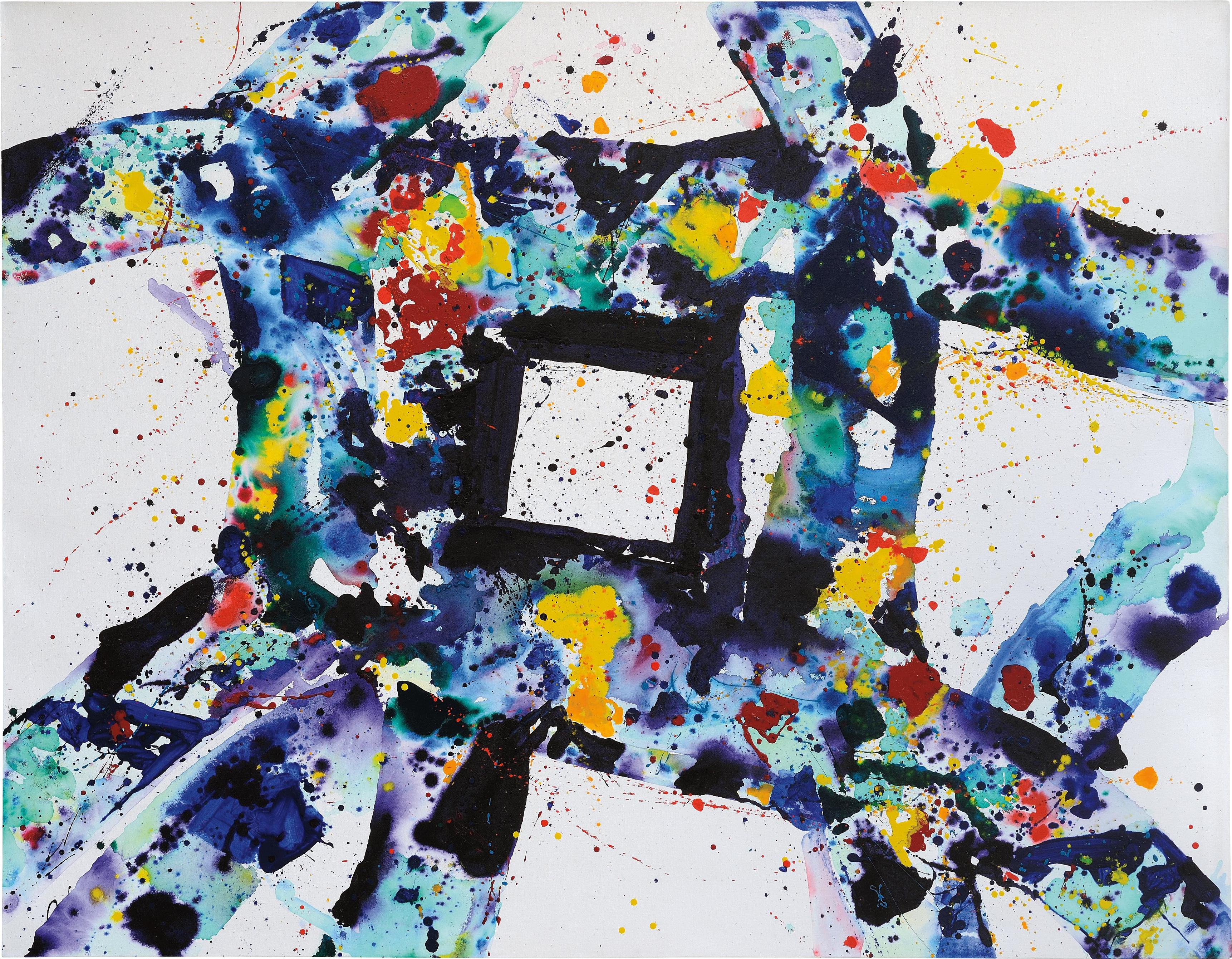 Sam Francis-Facing Within-1975