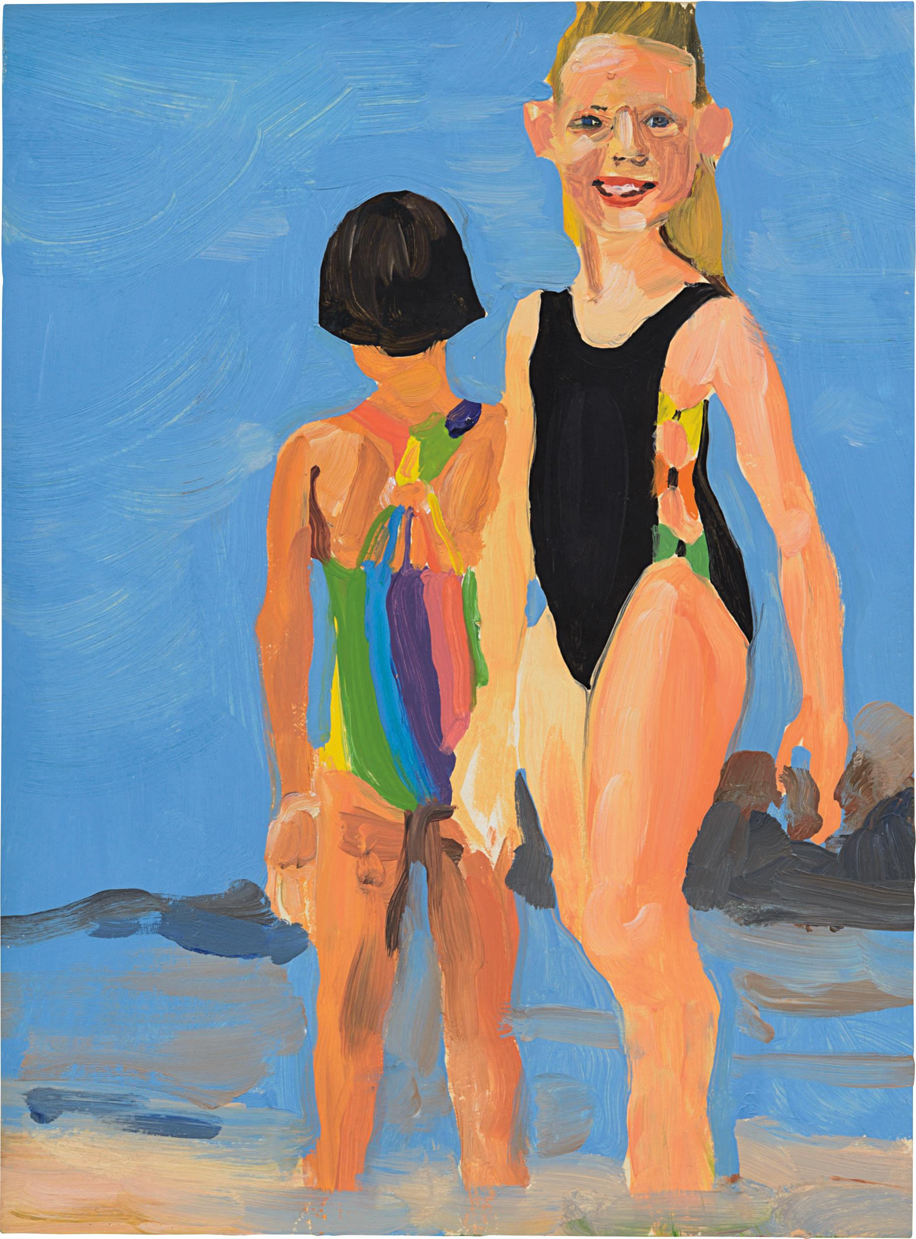 Chantal Joffe-Untitled-1995