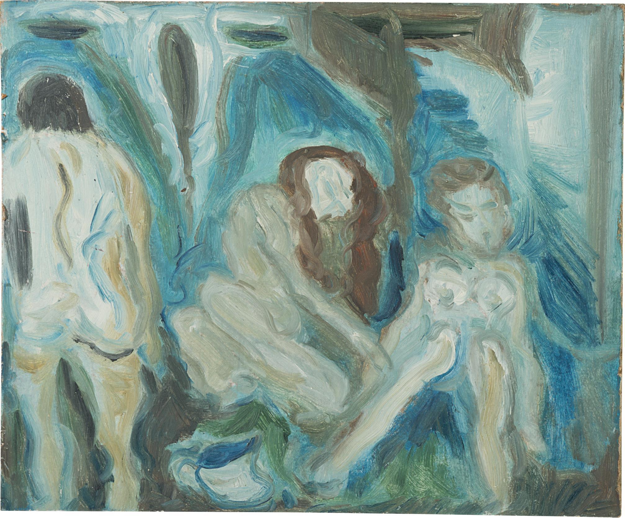 Tracey Emin-Untitled (Porchester Baths)-1988