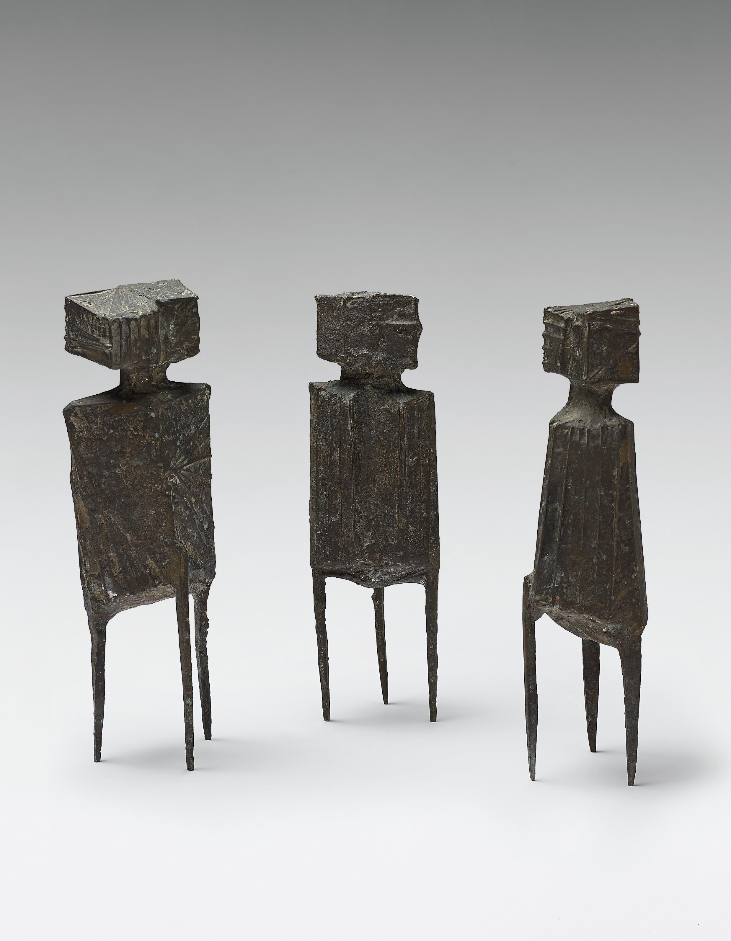 Lynn Chadwick-Maquette For Watchers Version II-1964