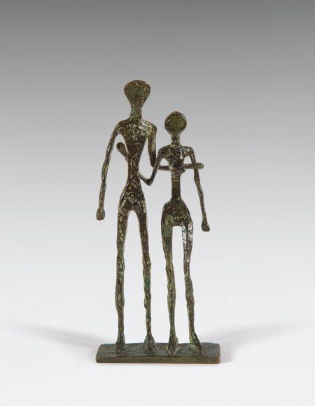 Diego Giacometti-Le Couple (Equilibristes)-1957