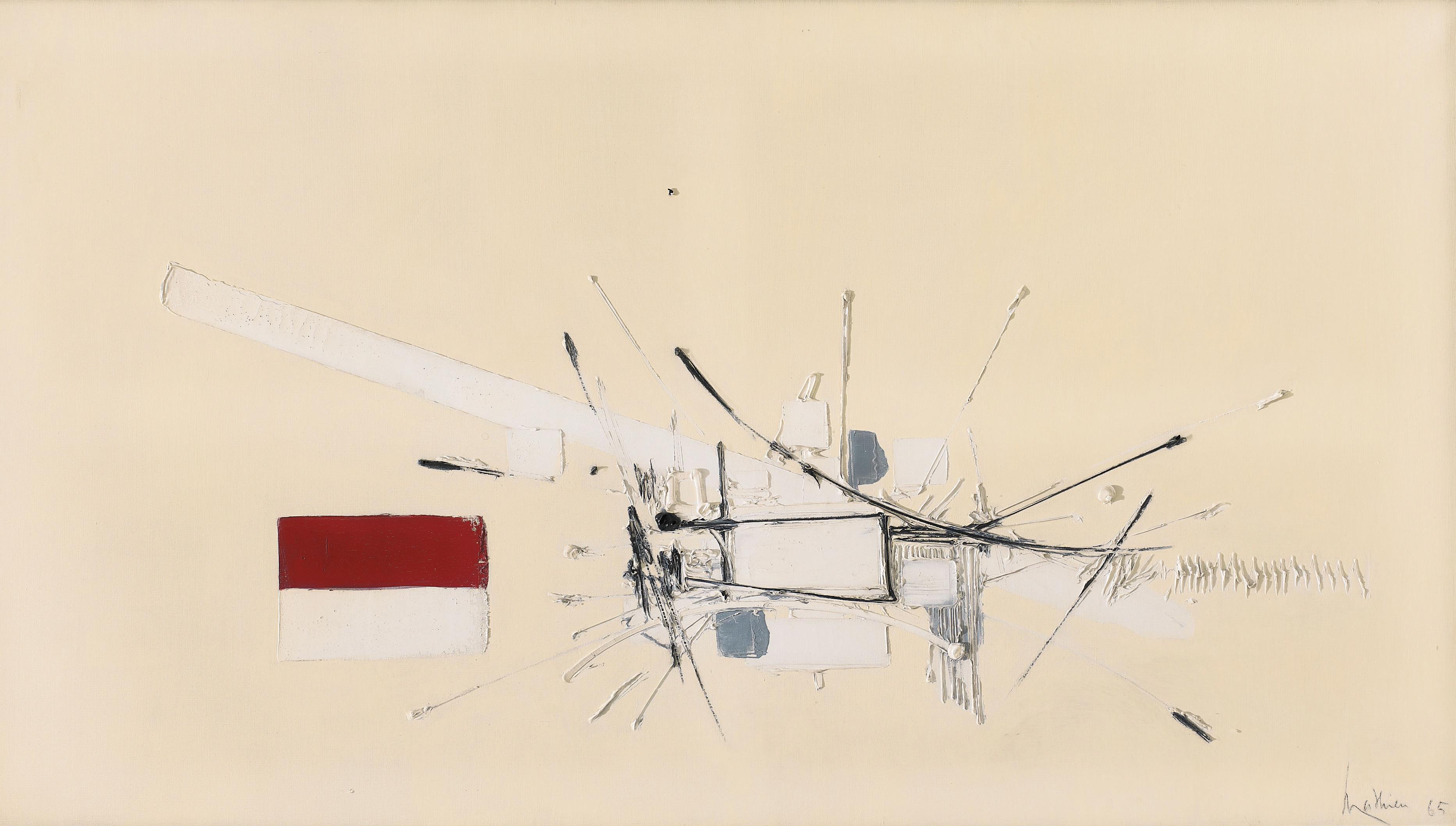 Georges Mathieu-Redorte-1965