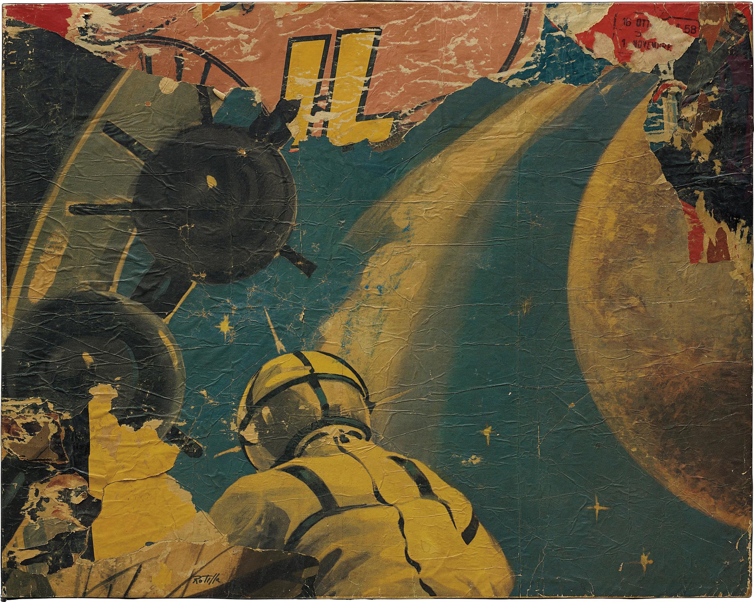 Mimmo Rotella-Untitled-1958