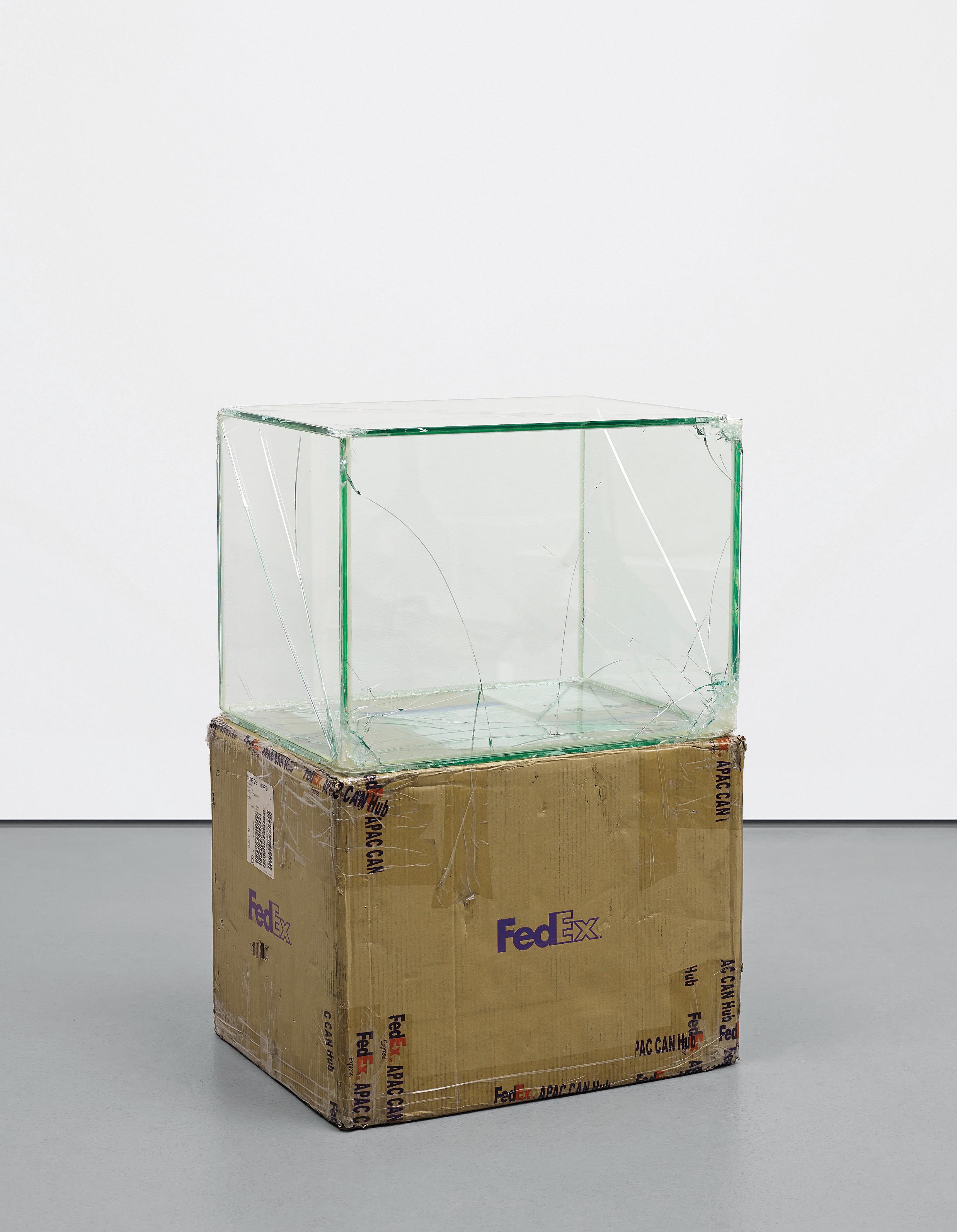 Walead Beshty-Fedex Large Kraft Box 2004 Fedex 155143, #875468976062-2011