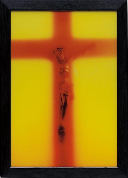 Andres Serrano-Piss Light-1987
