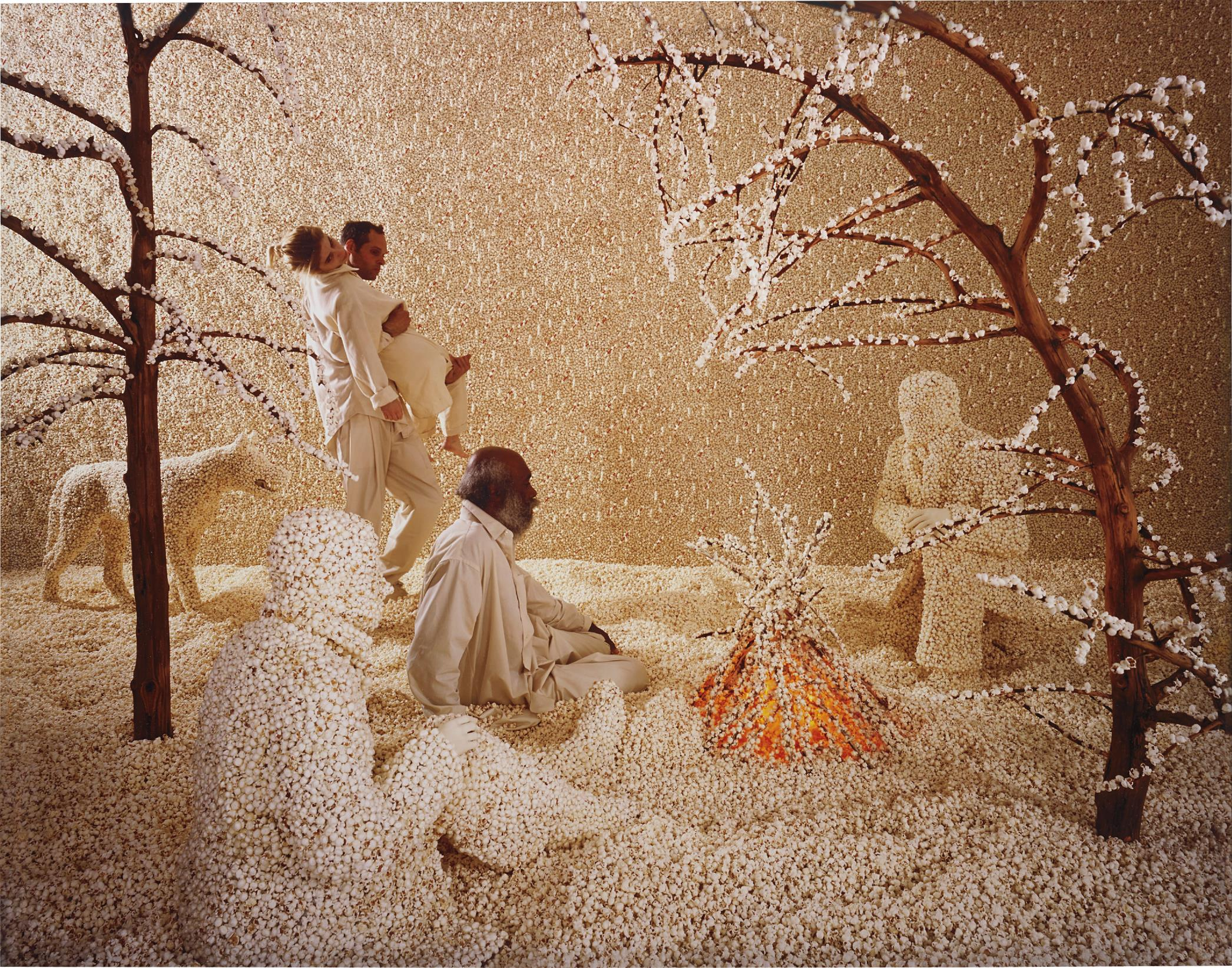 Sandy Skoglund-Raining Pop Corn-2001