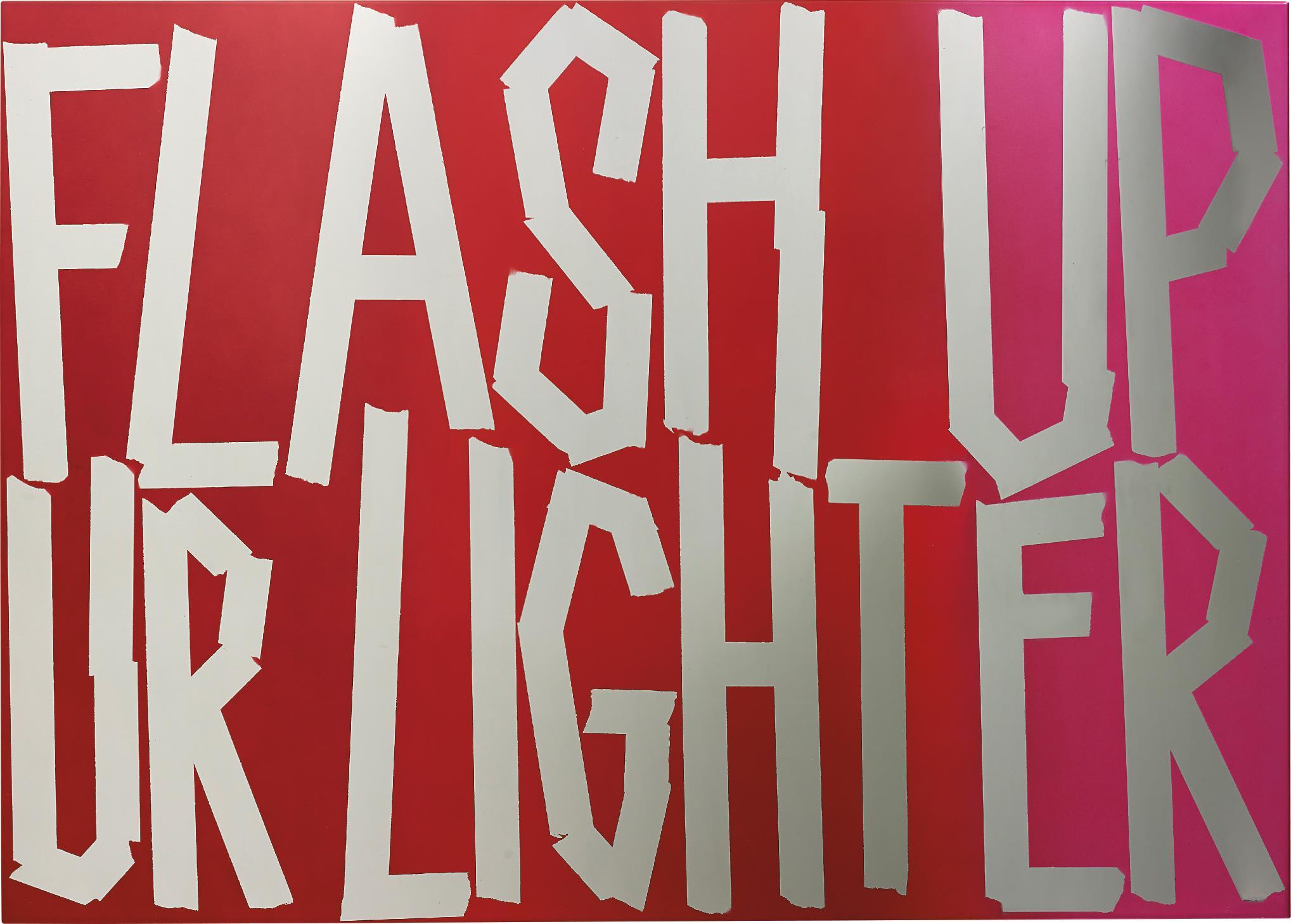 Eddie Peake-Flash Up Your Lighter-2013