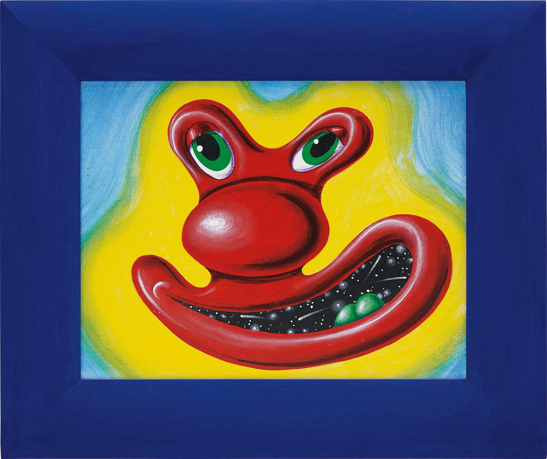 Kenny Scharf-Blob Guy-1995