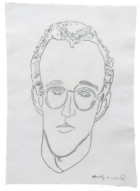 Andy Warhol-Untitled (Keith Haring)-