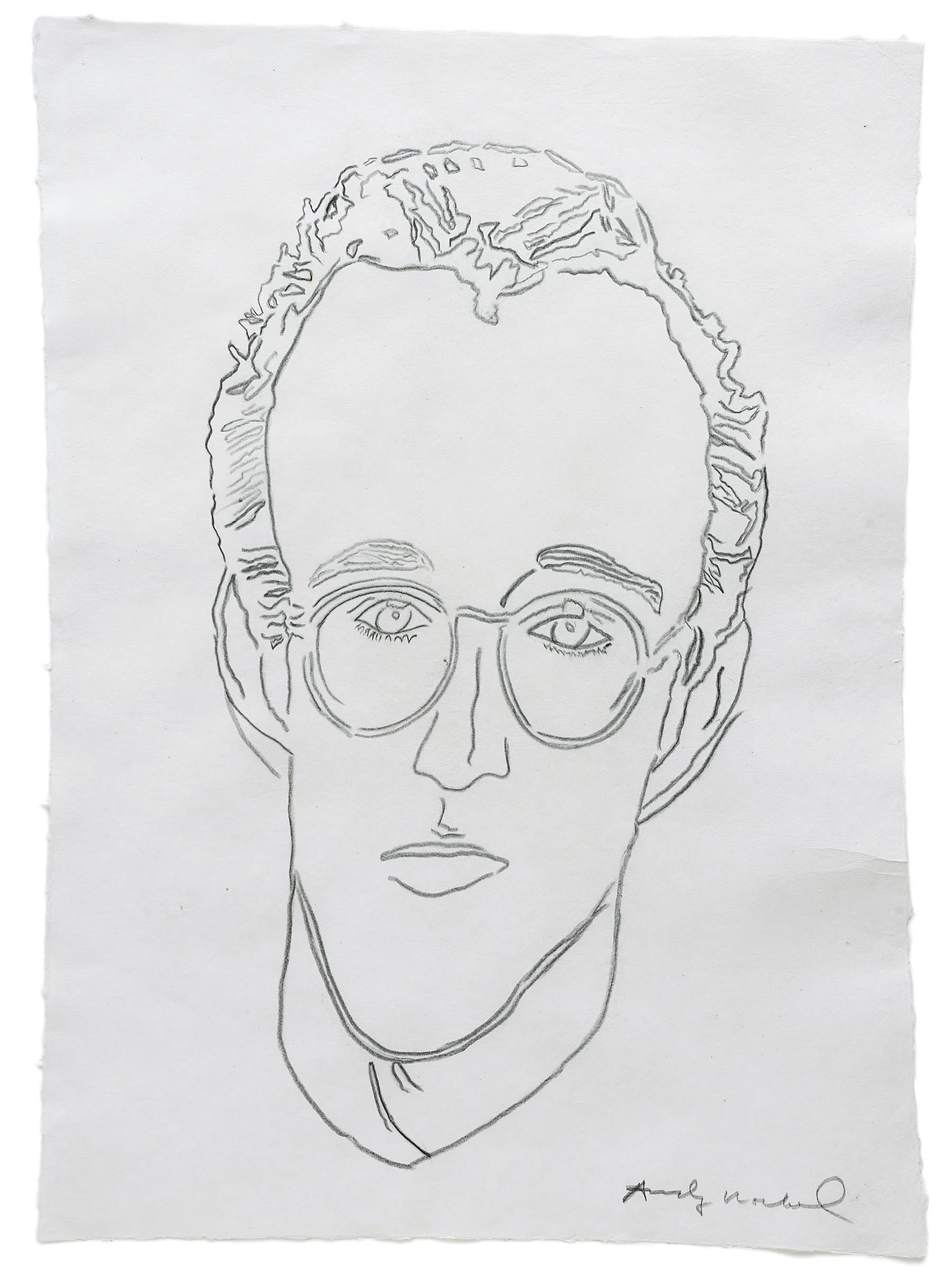 Andy Warhol-Untitled (Keith Haring)-